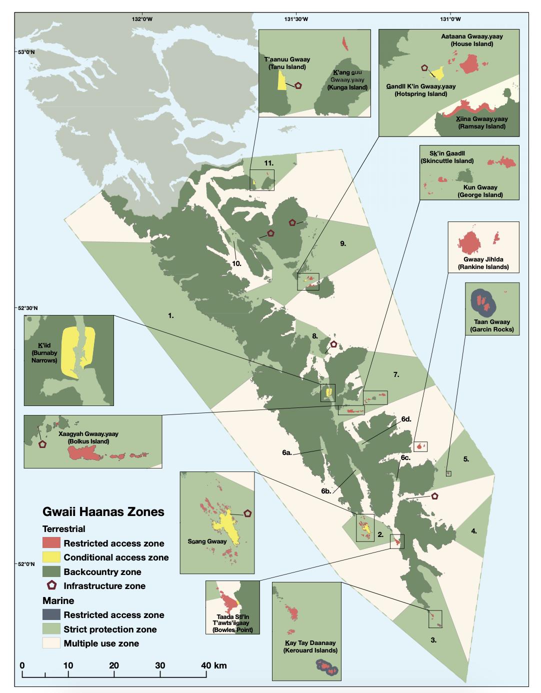 Gwaii Haanas Land-Sea-People Management Plan
